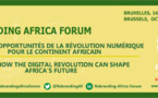 ANNONCE / Rebranding Africa Forum : Make Africa Great !